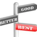 Good Better Best Choices